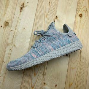 New Adidas PW Tennis HU Light Blue \ Pink
